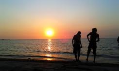 Sunset Pantai Teluk Awur Jepara