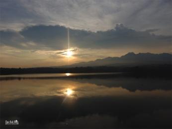 Sunset waduk seloromo