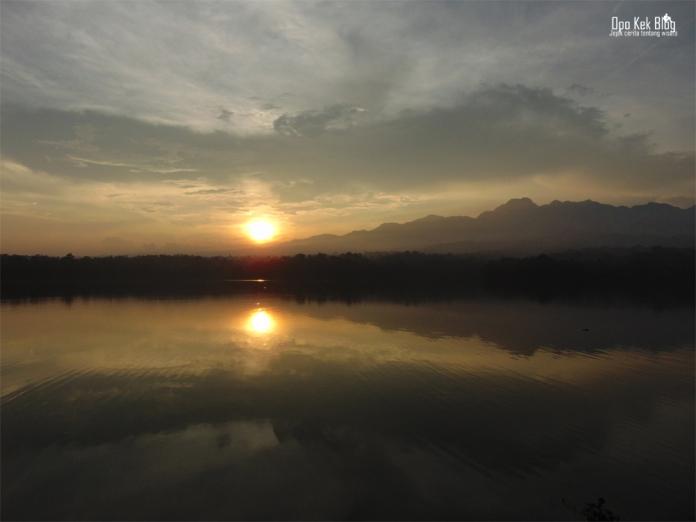 Sunset Waduk Seloromo Pati