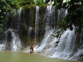 Air Terjun Kedung Grenjeng Rembang, JawaTengah.