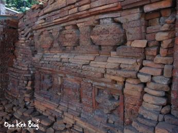 Ukiran dinding bagian selatan